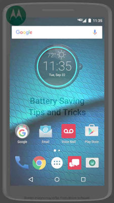 Battery Tips and Tricks for Your DROID MAXX 2 by Motorola