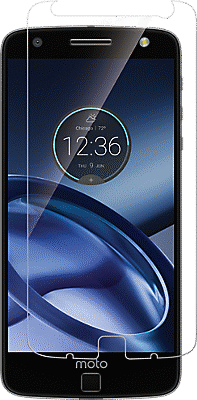 Flexible Glass Display Protector for Moto Z Droid