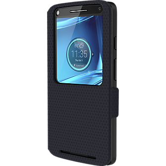 Flip Case for DROID Turbo 2- Navy Blue