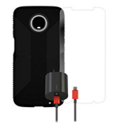 Speck Presido Grip, Protection and Charging Bundle for Moto Z3