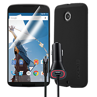 DualPro Bundle for Nexus 6 - Black