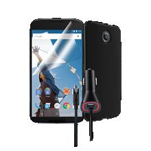 Silicone Cover Bundle for Nexus 6 - Black