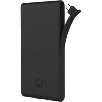 Motorola Power Pack Slim 5100 - Dark Canvas