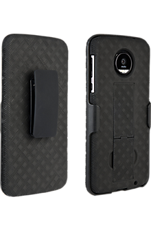 newest ddb0c ba001 Shell Holster Combo for Moto Z Force Droid - Black