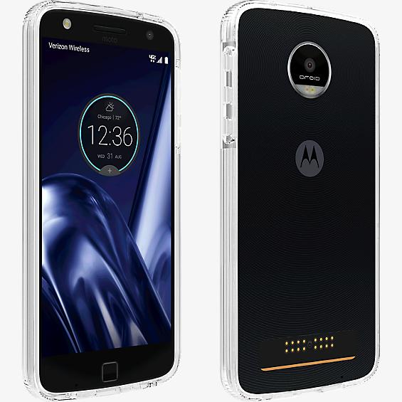 Two-Tone Bumper Case for Moto Z Play Droid