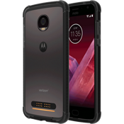 Two-Tone Bumper for Moto Z2 Play - Black/Dark Gray
