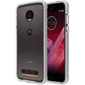Two-Tone Bumper for Moto Z2 Play - Clear/Clear