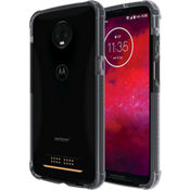 Two-Tone Bumper for moto z3 - Black