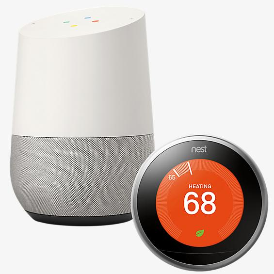 Google Home and Nest Thermostat Bundle