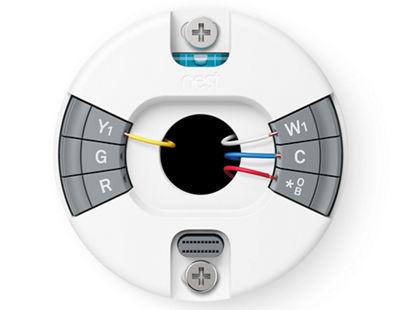 Nest termostato hook up