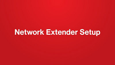 How to Set Up 3G Network Extender