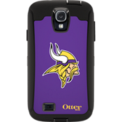 NFL Defender by OtterBox for Samsung Galaxy S4 - Minnesota Vikings