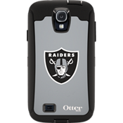 NFL Defender by OtterBox for Samsung Galaxy S4 - Oakland Raiders