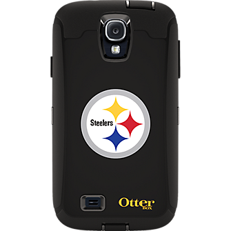NFL Defender by OtterBox for Samsung Galaxy S4 - Pittsburgh Steelers