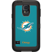 NFL Defender by OtterBox for Samsung Galaxy S5 - Miami Dolphins
