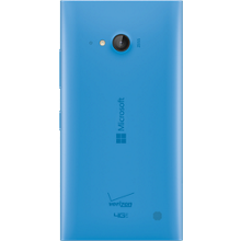 Wireless Charging Battery Door for Microsoft Lumia 735 - Cyan
