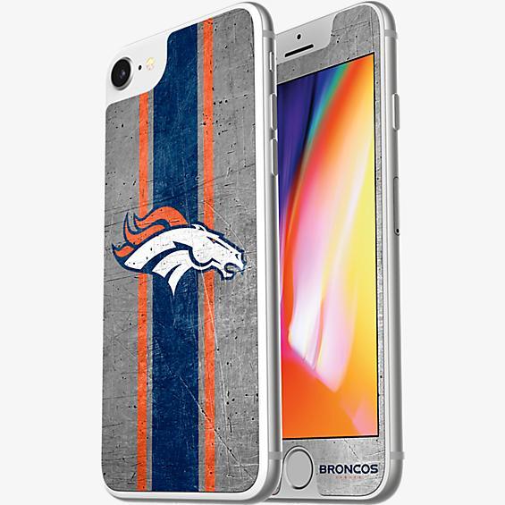 NFL Alpha Glass Screen Protector for iPhone 8/7/6s/6 - Denver Broncos