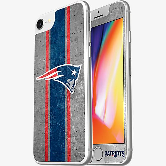 NFL Alpha Glass Screen Protector for iPhone 8/7/6s/6 - New England Patriots