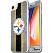 NFL Alpha Glass Screen Protector for iPhone 8/7/6s/6 - Pittsburgh Steelers