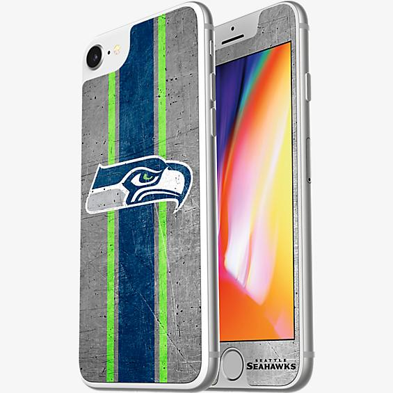 NFL Alpha Glass Screen Protector for iPhone 8/7/6s/6 - Seattle Seahawks