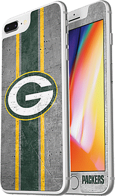 sneakers for cheap 83cbf e281b NFL Alpha Glass Screen Protector for iPhone 8 Plus/7 Plus/6s Plus/6 Plus -  Green Bay Packers