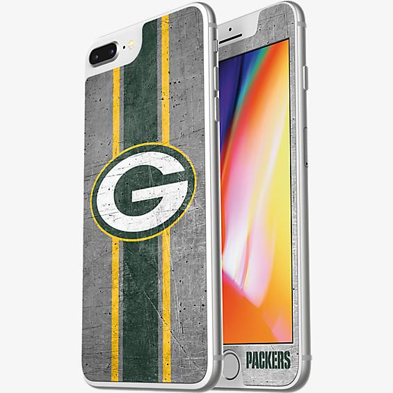 NFL Alpha Glass Screen Protector for iPhone 8 Plus/7 Plus/6s Plus/6 Plus - Green Bay Packers