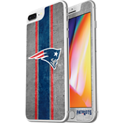 NFL Alpha Glass Screen Protector for iPhone 8 Plus/7 Plus/6s Plus/6 Plus - New England Patriots