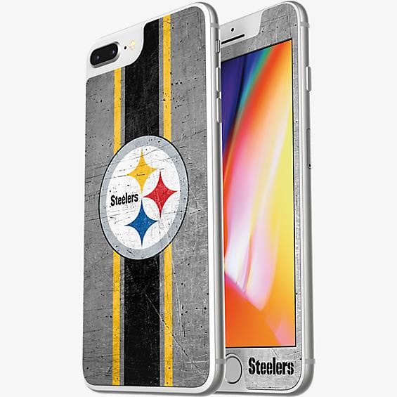 NFL Alpha Glass Screen Protector for iPhone 8 Plus/7 Plus/6s Plus/6 Plus - Pittsburgh Steelers