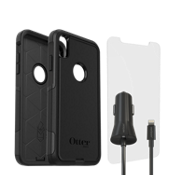 Otterbox Commuter Case, Protection & Charging Bundle for iPhone XS/X