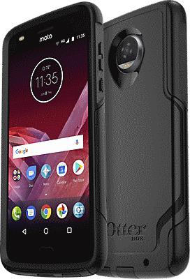 best service 75a78 6785c Commuter Series Case For Moto Z2 Play