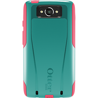 OtterBox Commuter Series for DROID Turbo - Teal Rose