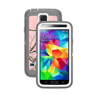 OtterBox Defender Series for Samsung Galaxy S 5 - Real Tree Pink