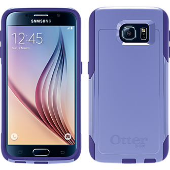 OtterBox Commuter Series for Samsung Galaxy S 6 - Purple Amethyst