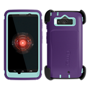 OtterBox Defender Droid Mini - Purple with Blue