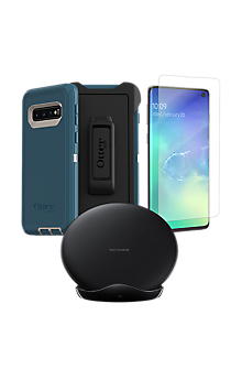 timeless design 36195 2b9ff OtterBox Defender Case, Protection and Wireless Charging Bundle for ...