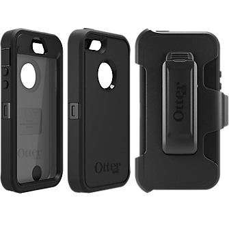 OtterBox Defender Series for Apple iPhone 5s - Black