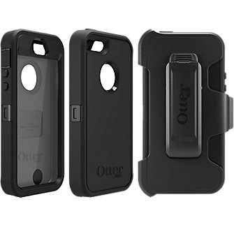 Otterbox Defender Series For Le Iphone 5s Se Black