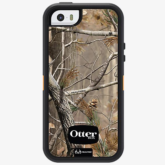 Defender Series Case for Apple iPhone 5s/SE - Blaze Camo