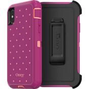 Defender Series For iPhone X - Coral Dot