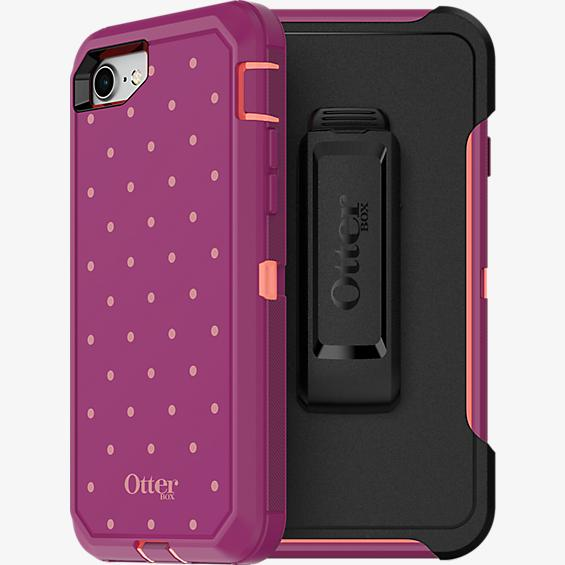 Defender Series For iPhone 8/7 - Coral Dot