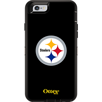 NFL Defender Series by OtterBox for iPhone 6/6s - Pittsburgh Steelers