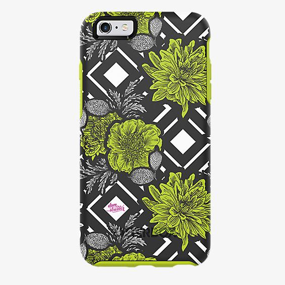Project Runway Symmetry Series for iPhone 6 Plus/6s Plus - Green Diamond