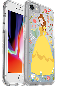 huge selection of bacee e6a45 Symmetry Series Power of Princess Case: Belle Edition for iPhone 7/8