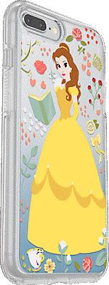 buy popular c628a b604d Symmetry Series Power of Princess Case: Belle Edition for iPhone 7 Plus/8  Plus