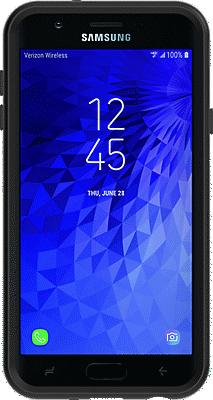 purchase cheap 68375 7e04b Symmetry Series Case for Galaxy 2nd Gen J7/J7V - Black