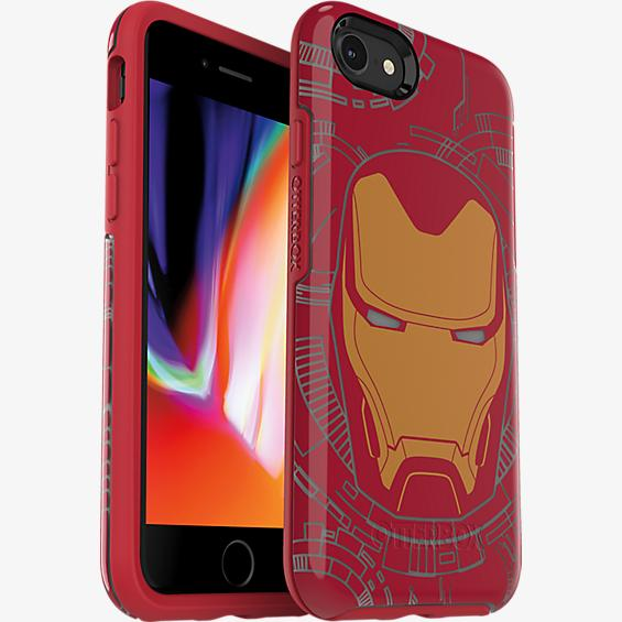 Symmetry Series Marvel Avengers Iron Man Case for iPhone 7/8