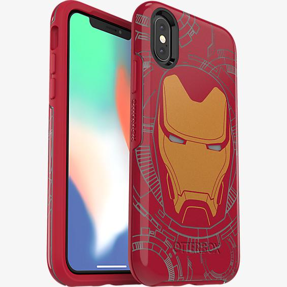 Symmetry Series Marvel Avengers Iron Man Case for iPhone X