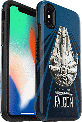 outlet store 39d15 1146a Symmetry Series Solo: A Star Wars Story Millennium Falcon Case for iPhone  XS/X