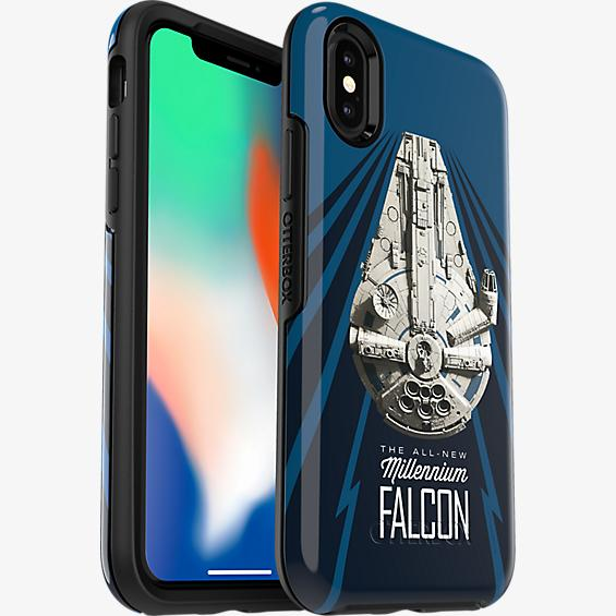 Symmetry Series Solo: A Star Wars Story Millennium Falcon Case for iPhone X