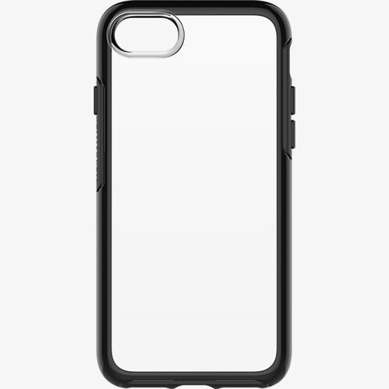 Symmetry Series Clear Case for iPhone 7 - Black Crystal